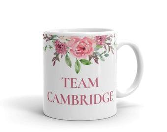 Team Cambridge - Will and Kate Mug