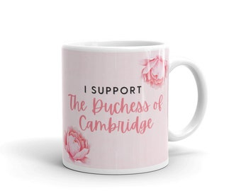 Duchess of Cambridge floral mug