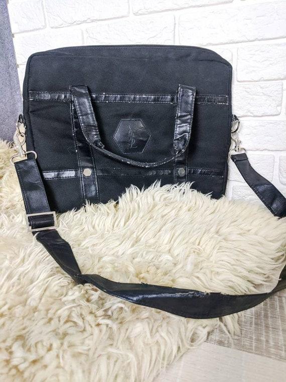 Vintage YSL Black Bag