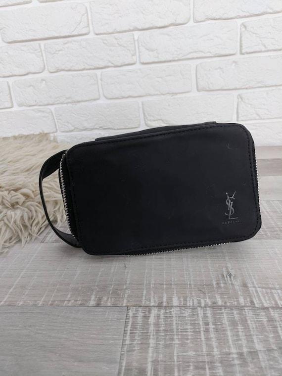 Vintage YSL Black Cosmetic Bag