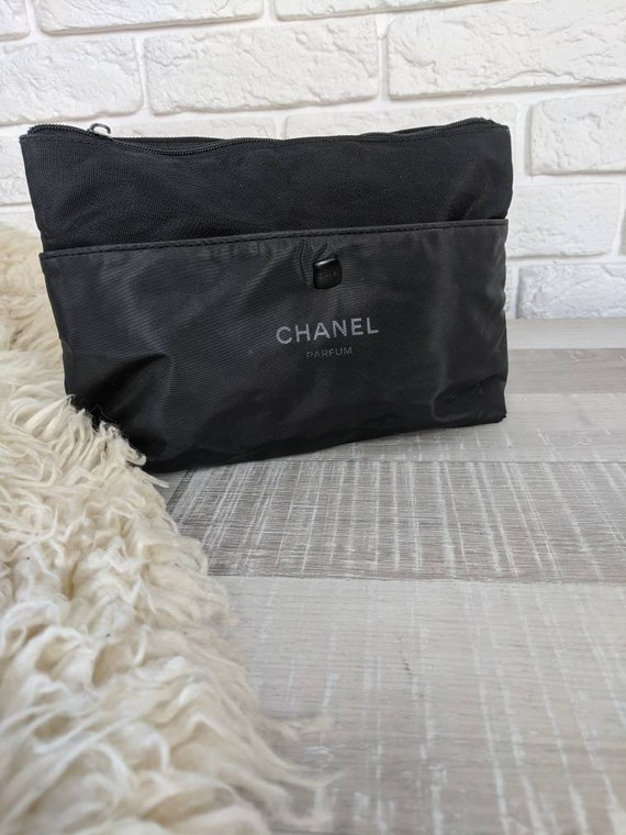 Vintage Chanel cosmetic bag