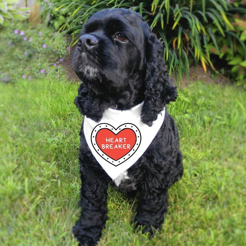 Pet Bandana Heart Breaker