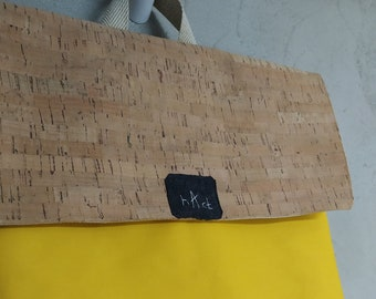 the YELLOW cork backpack