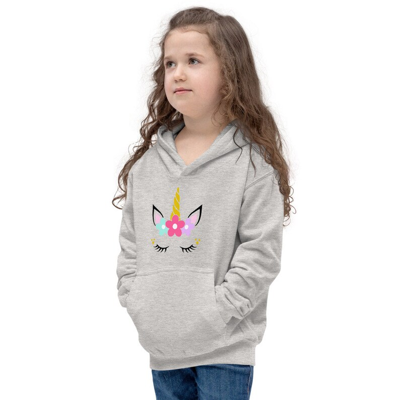 Kids Hoodie Birthday Gift for Kids Unicorn Cute Hoodie for Kids Cute Unicorn Kids Hoodie Party Gift for Kids Cute Unicorn