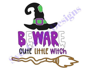 Little Witch Svg Etsy