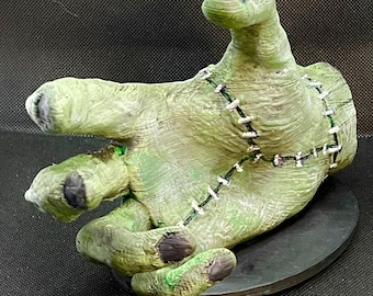 Frankenstein Hand Cell Phone Stand - PERFECT FOR HALLOWEEN!!