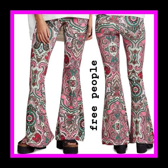 Free People vintage retro pants