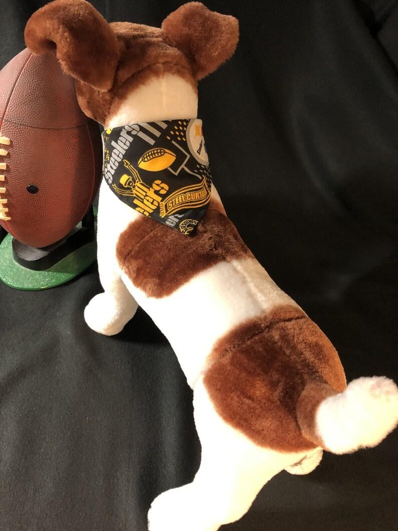 Steelers Dog Bow Tie or Bandana
