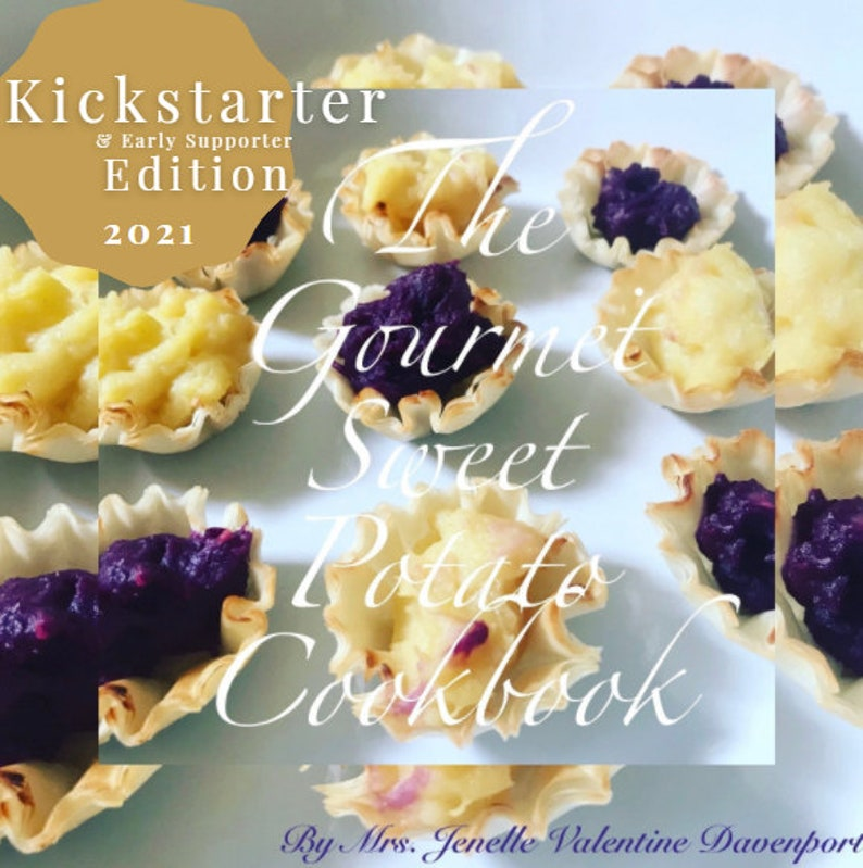 Pre-Order the E-Book The Gourmet Sweet Potato image 0