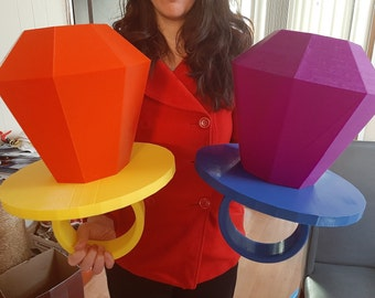 Giant Ring Pop Candy Props - Huge Ring Pop Decoration - Ring Pop Photo Booth Prop