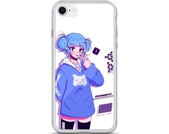 Discord Chan Anime Long sleeve Anime Clothing Cute Kawaii Anime girl Egirl Anime Streetwear Twitch gamer girl