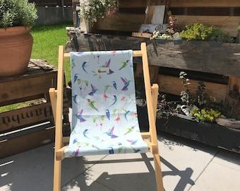 """sustainable children's deck chair """"Wanderer"""""""