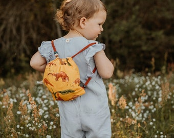 "Mini gym bag (XS) for toddlers ""Pangolin"""