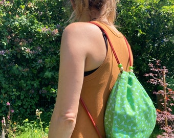 """Gym bags for children and young adults """"leaf noise"""""""