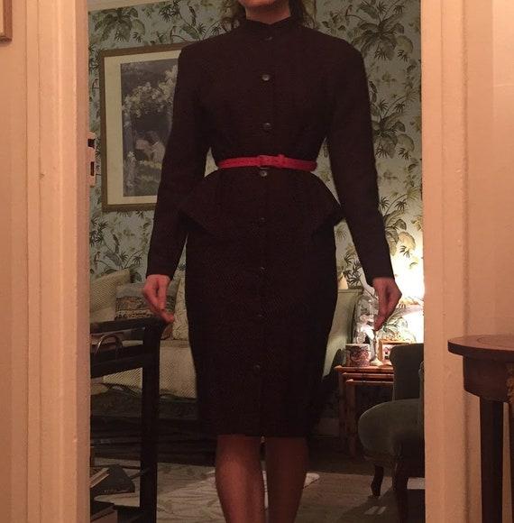Lanvin polka dot dress