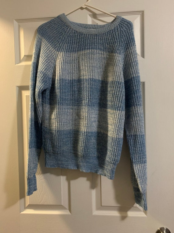 Large Hand-knit Sweater