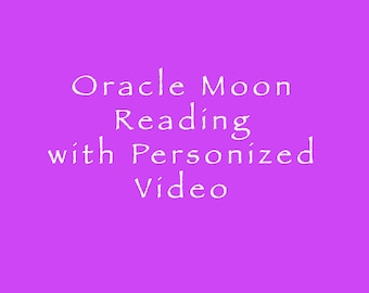 Oracle Moon Reading with Personalized Video