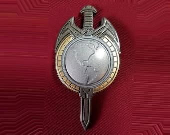 Star Trek The Next Generation Movie Communicator Pin Combadge Badge Uniform