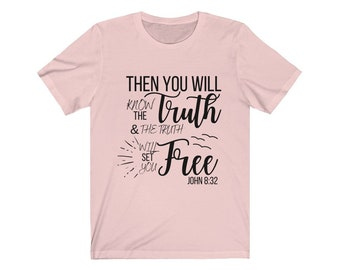 Truthbomb Shirt, Truth Will Set You Free, T-shirt, Christian T-shirt, Truthbomb T-shirt