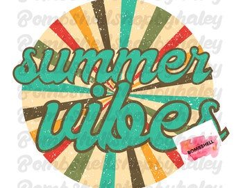 River Vibes Tie Dye Leopard Retro Summer Beach Vacation Ready To Press Sublimation Transfer Or Iron On Vinyl Transfer