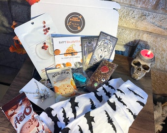 Halloween Pick Me Up Box - Halloween Gift - Autumn & Fall Gift