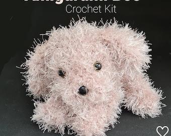 Crochet Kit  Amigurumi Boo + Video Support Joodybloos Joodigurumi Boo and Friends UK & US Terms- all the materials needed.