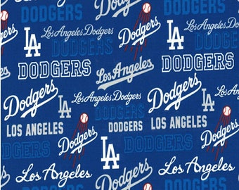 "LA Dodgers Fabric* 100% Cotton *Quarter Yard (9""×44"")* Half Yard (18""×44"")* Full Yard (36""×44"")* 2020 Champs*"