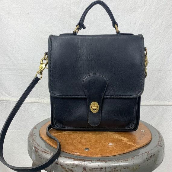 Coach Black Messenger Bag 0234