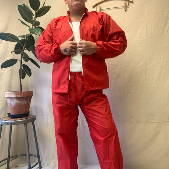 70's Russell Athletic Rain Suit