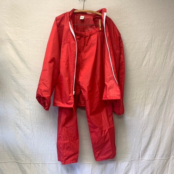 70's Russell Athletic Rain Suit - image 5