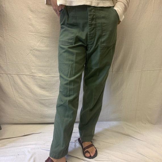 70's OG-107 Military Trousers