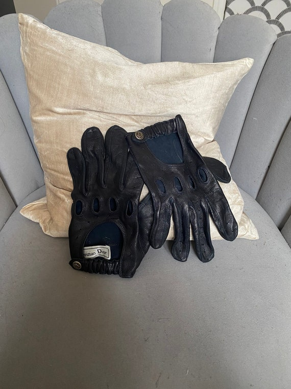 DIOR Motorcycle Gloves