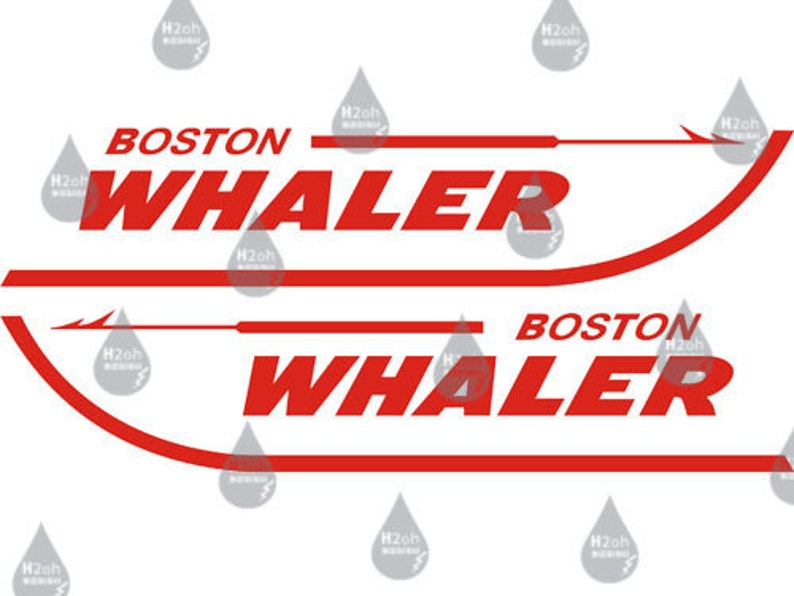 Boston Whaler Vinyl Decal
