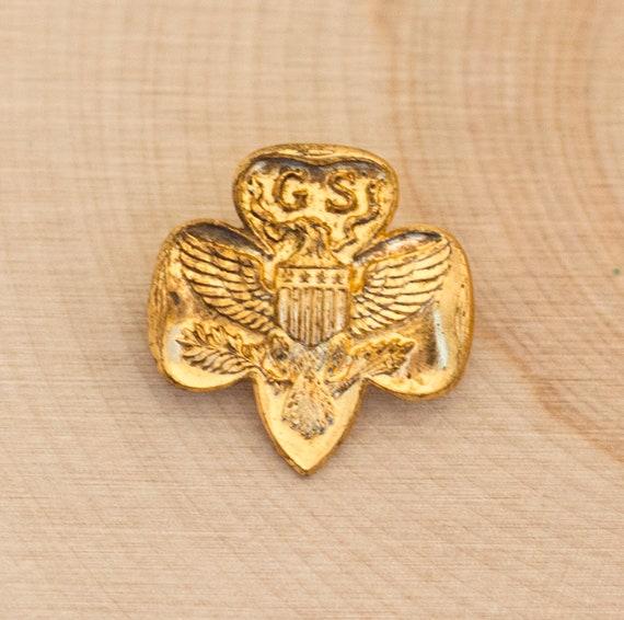 Girl Scouts Pin, Girl Scout Pin, Vintage Girl Scou