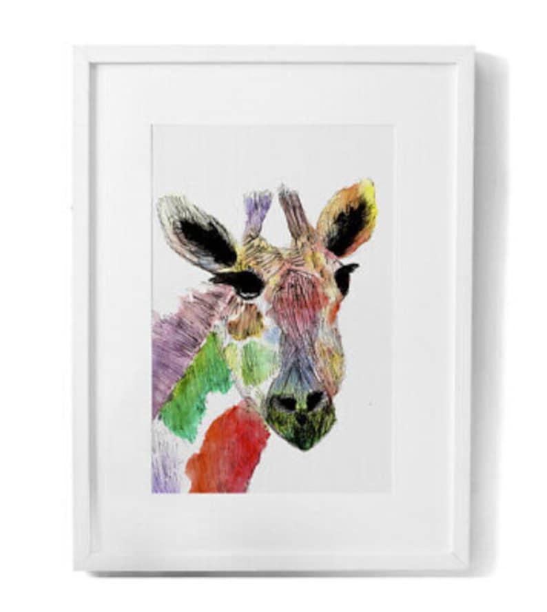 Animal Giraffe Wall Art Print Giraffe Wall Art Trending Now Top Selling Items Cute Giraffe HaPPy HaRRison