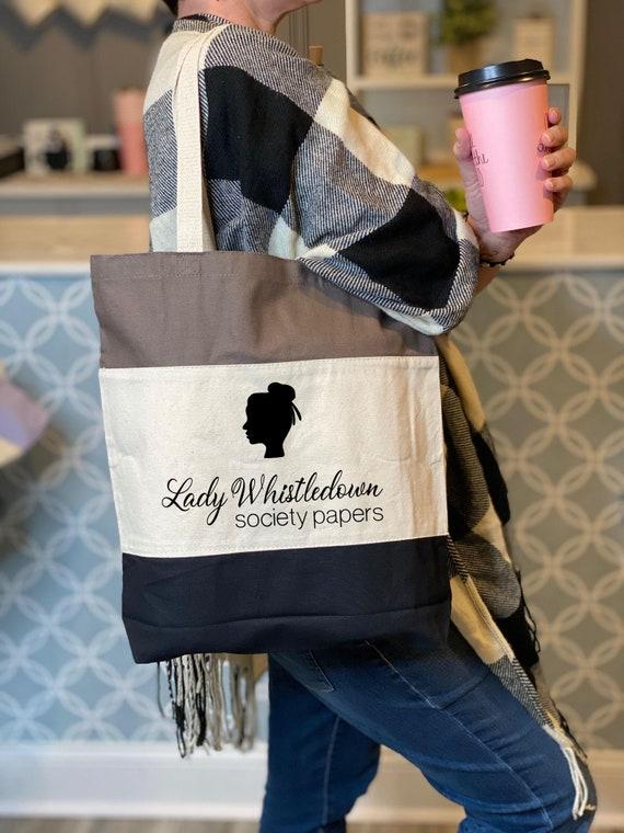 Lady Whistledown/'s Society Papers Tote Bag Bridgerton