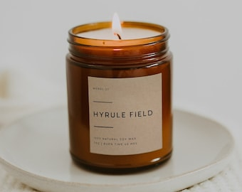 Hyrule Field   Fandom Candle   The Legend of Zelda   Breathe of the Wild   Fandom Gift   Video Game Candle