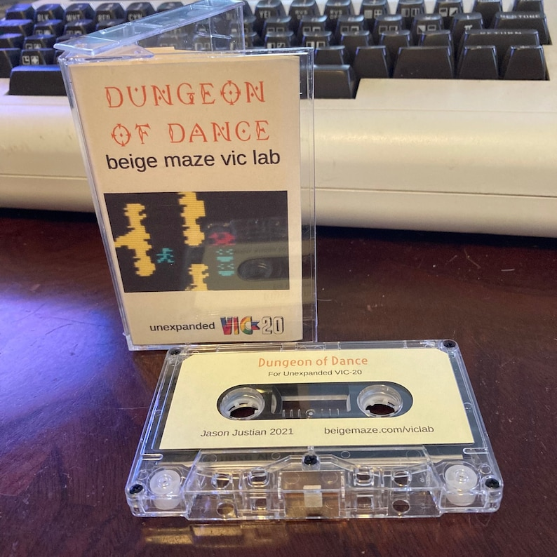 Dungeon of Dance for VIC-20 image 0
