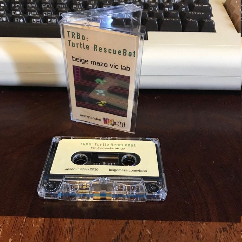 TRBo: Turtle RescueBot for VIC-20 image 0