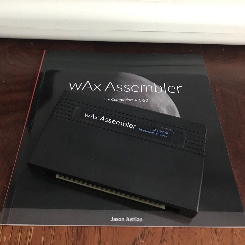 wAx Assembler for VIC-20  Block 3 Edition image 0