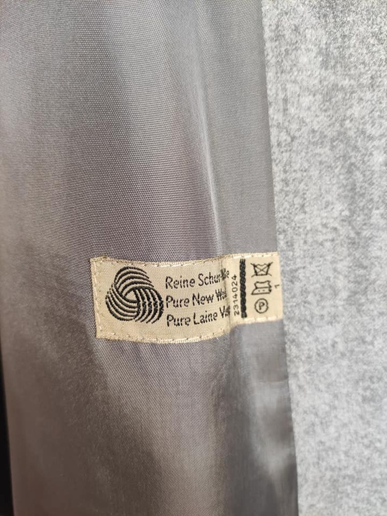 FRANZ SAUER KOLN 100/% wool vintage coat
