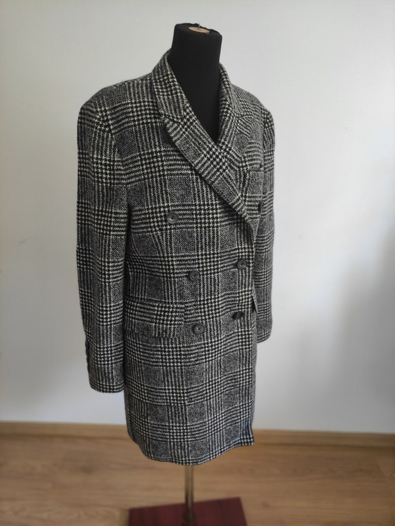 HARDY AMIES coat - 100% wool - vintage coat