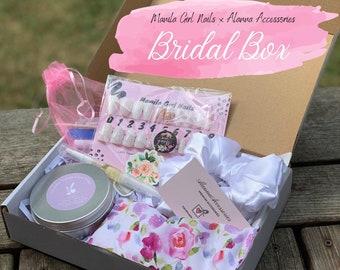 Bridal Box  Alanna Accessories x Manila Girl Nails Collaboration  Bride Gift Box, Proposal Gift Box, Engagement Gift Box