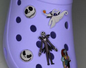 Skeleton Christmas Nightmare Shoe Charms