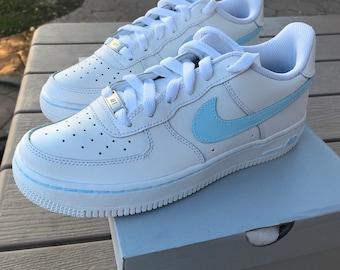 Nike Air Force 1 Painted Custom, Custom Women Nikes, Custom Nikes, *READ DESCRIPTION*