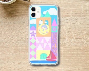 It's a Small World Disneyland / Disney World iPhone Case // 12 Pro Max, 12 Pro, 12 Mini, 12, 11 Pro Max, 11 Pro, 11, (8 and newer)