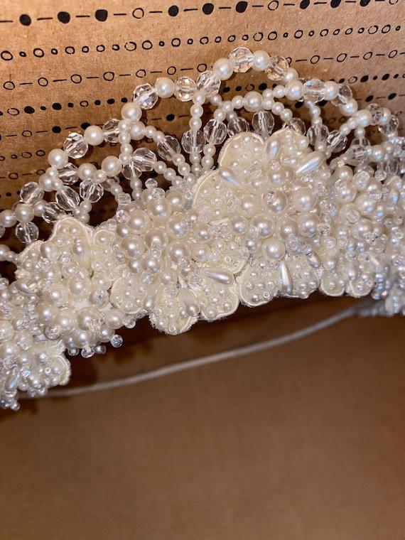 Beautiful Restored Vintage Bridal Pearl Bead Weddi