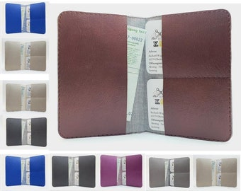 Leather Car Sham Protective Case Wallet Case Vehicle Case Card Card Cards High Quality Made in Germany
