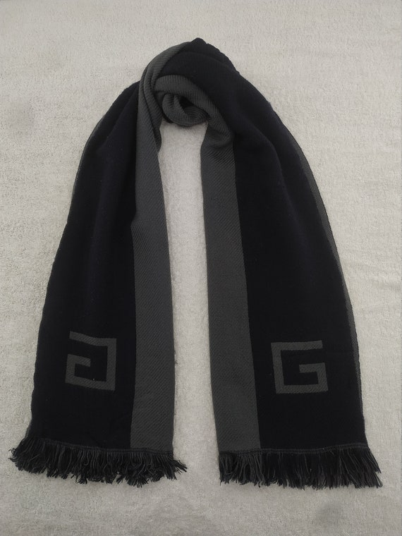Vintage Givenchy Scarf Muffler Accessories Wrap Ro
