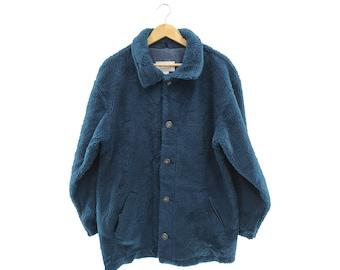 Vintage L.L.Bean Fleece Jacket Size L